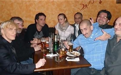 "2009 - ""Ambrózie Music Club"", Praga 10 - amici..."