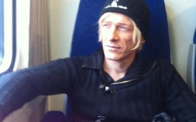 2014 - Furth im Wald (GER) - tornando in treno a Praga...