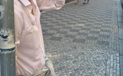 2014 - Praga 1 - per strada...